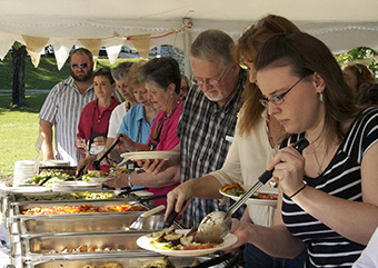 Church suppers, stewardship and community